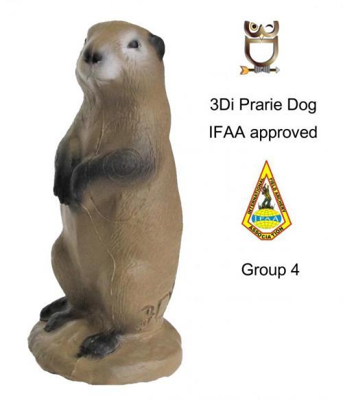3Di Cane della prateria